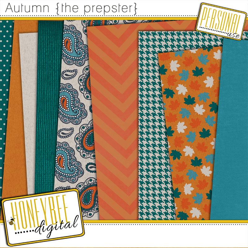 HoneyBee Digital - Autumn {the prepster}