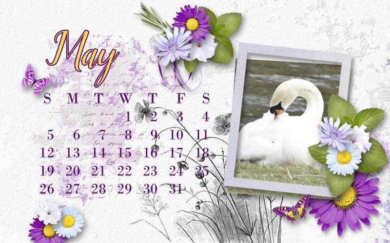 Calendrier Perso.Kit Lavender Fields De Simplette Sortie 10 Mai Photo Perso