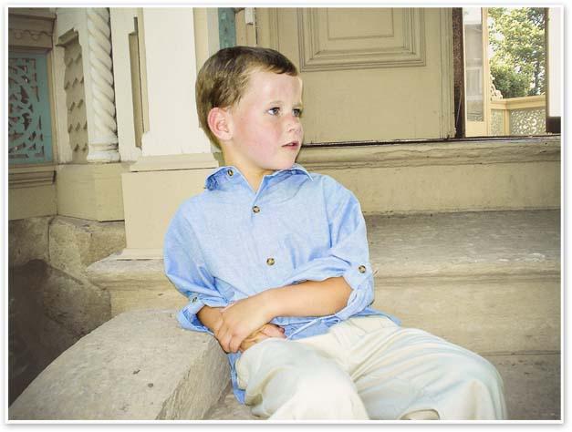 Cole, age 8