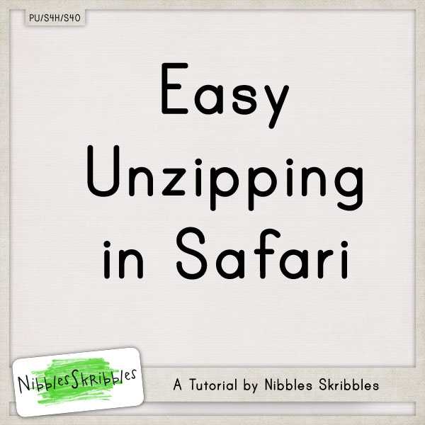 Post image for Unzipping with Safari